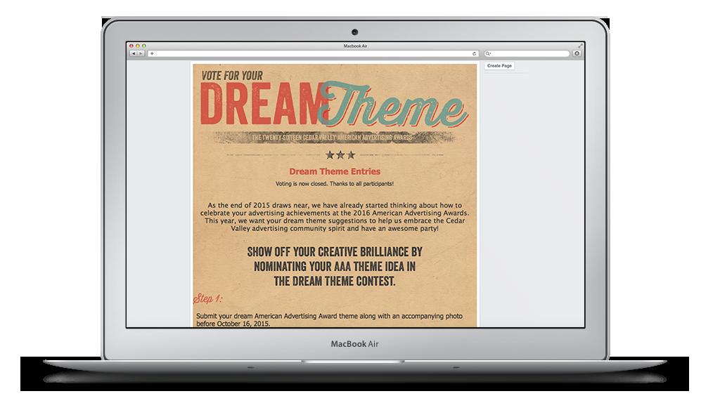 Dream Theme Contest
