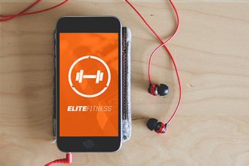 Elite Fitness Branding