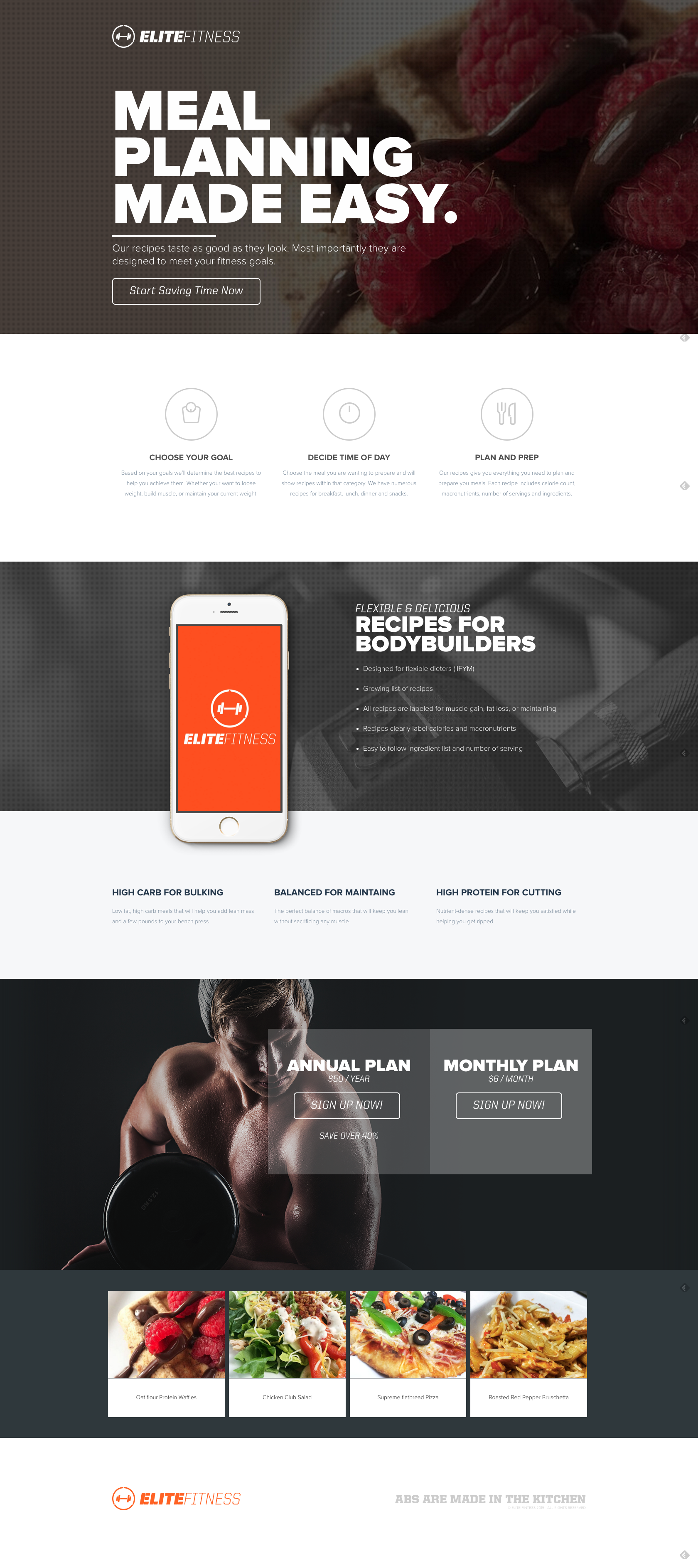 elite-fitness-website