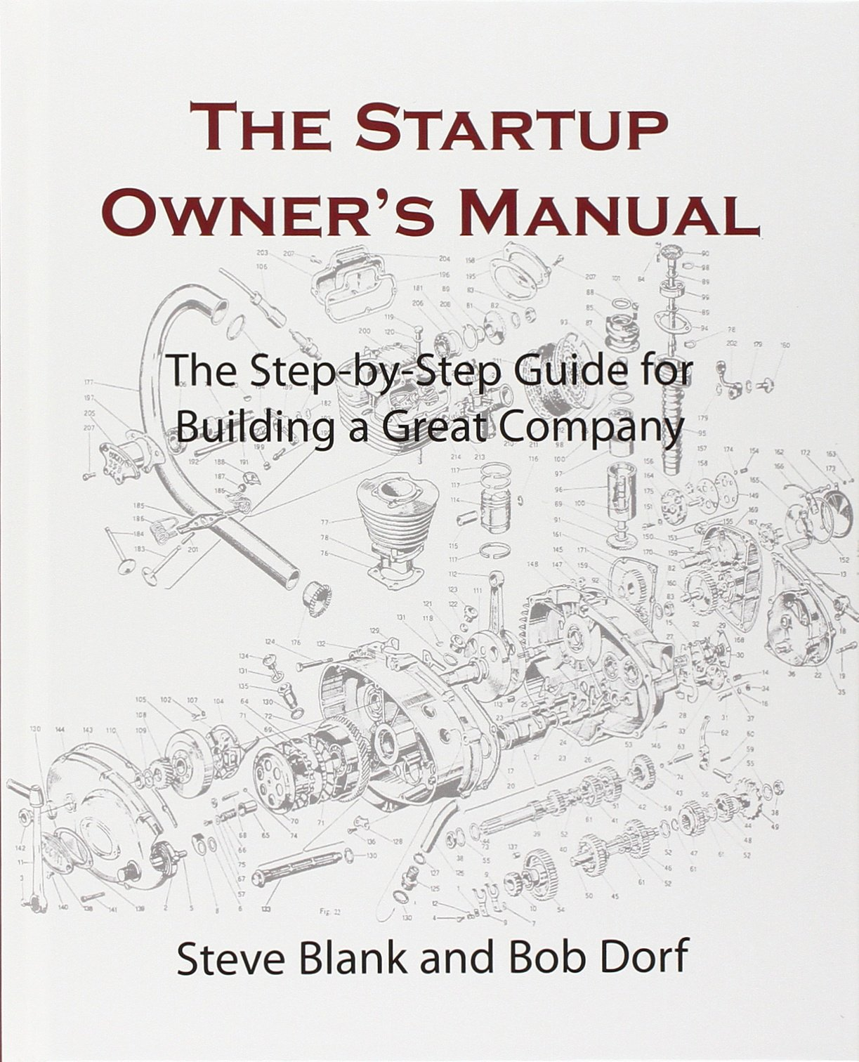 The Startup Owner's Manual Book Cover
