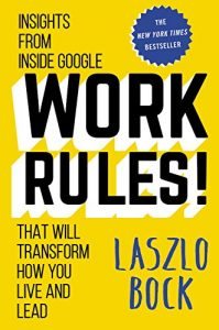 Work Rules book cover