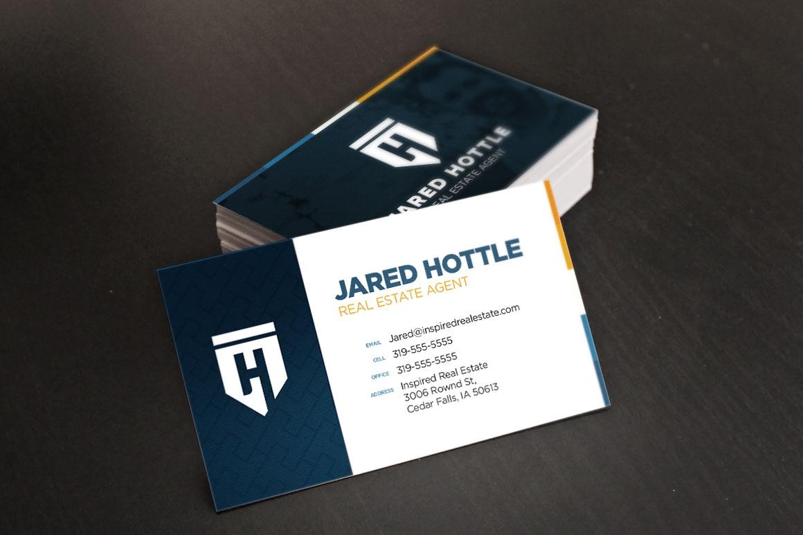 hottle-real-estate-business-card-mockup